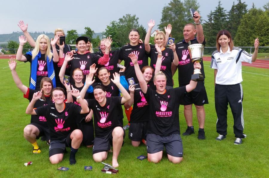 Kreismeister 2016/17 Frauen: FC RSK Freyburg