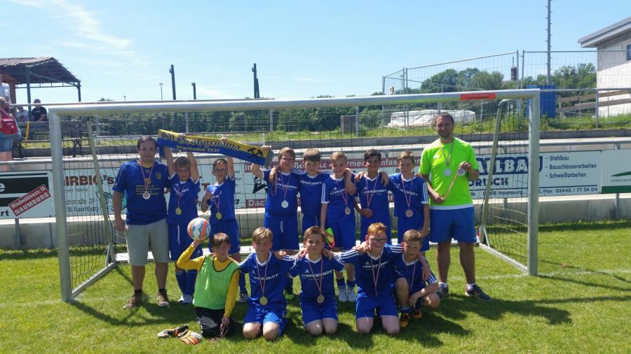 Staffelsieger Staffel 3 E-Junioren: SV Großgrimma I