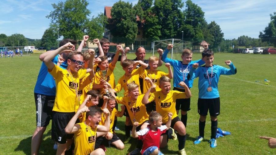 Kreismeister 2016/17 E-Junioren: JSG Naumburg II