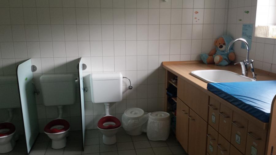 Krippenwaschraum