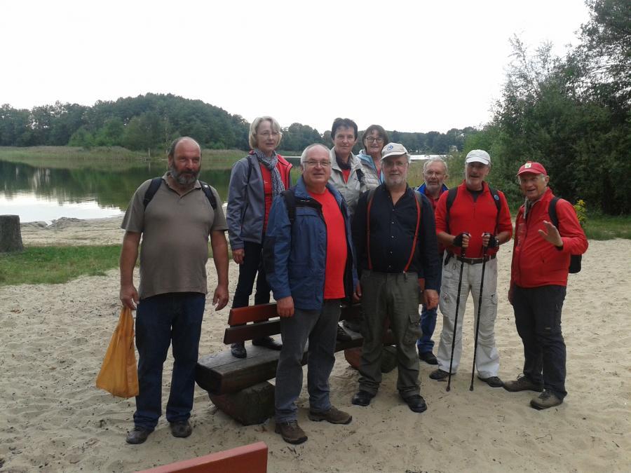 Vereinswanderung Seddiner See