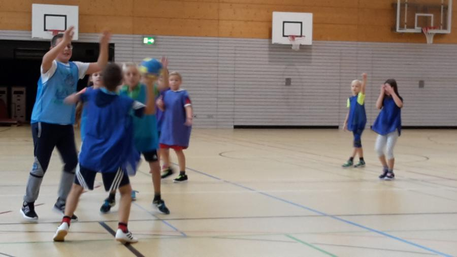 Handball-Schnuppertraining