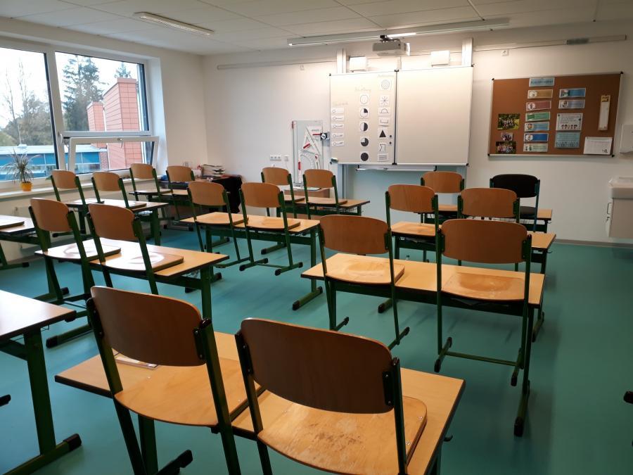 Klassenraum aktive Tafel