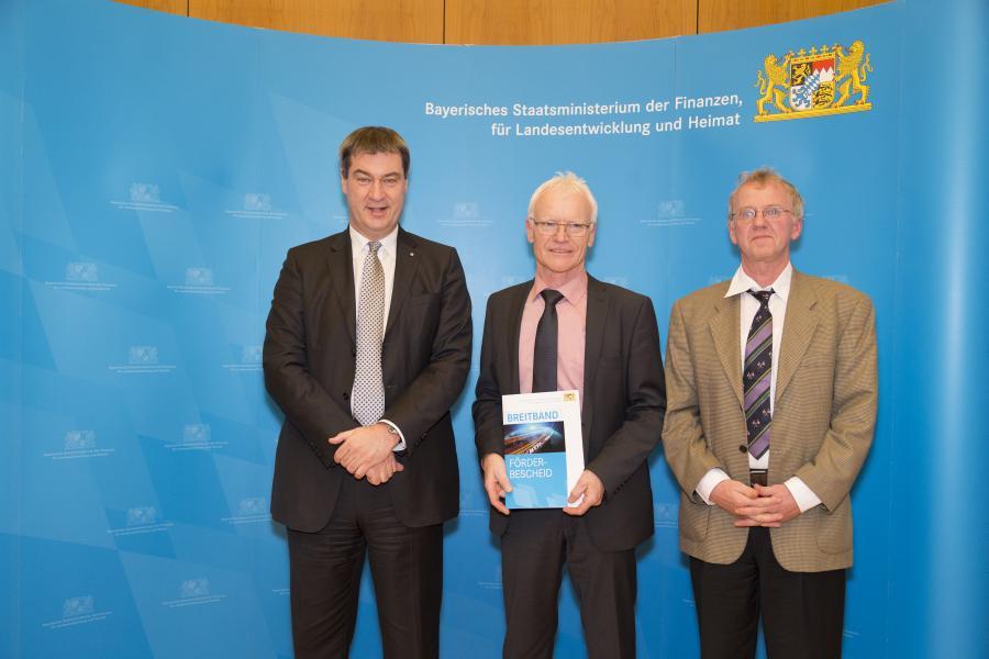 Breitbandversorgung  11.12.2017 Dr. Markus Söder