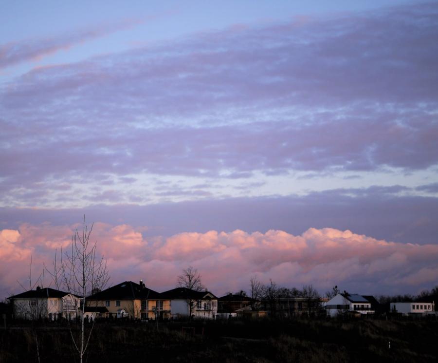 2017 Sonnenuntergang über der Almasiedlung I. Paulick