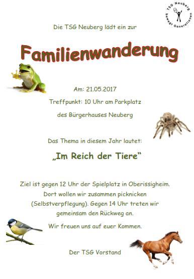 Familienwanderung 2017