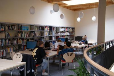 Projektarbeit in der Bibliothek