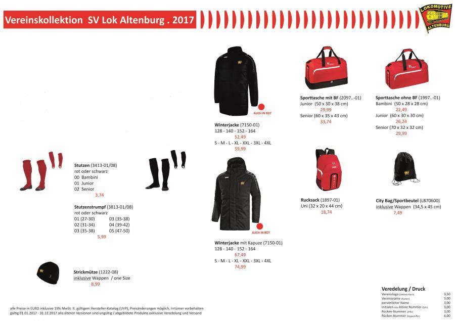 2017 SV Lok Altenburg_Vereinskollektion_2017_Seite 1 neu
