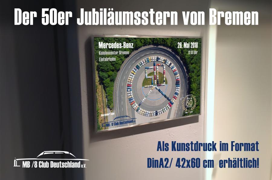 Der Jubiläumsstern von Bremen