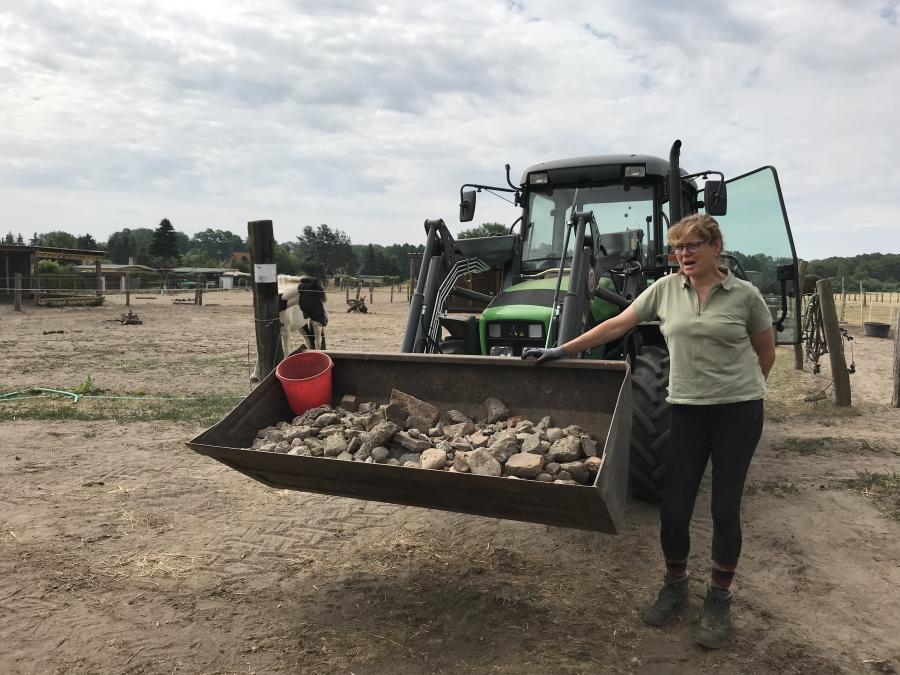 Cerstin und die Steine