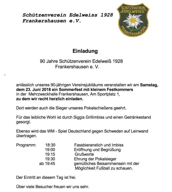 2018-06-23 90 Jahre SV Edelweiß Frankershausen