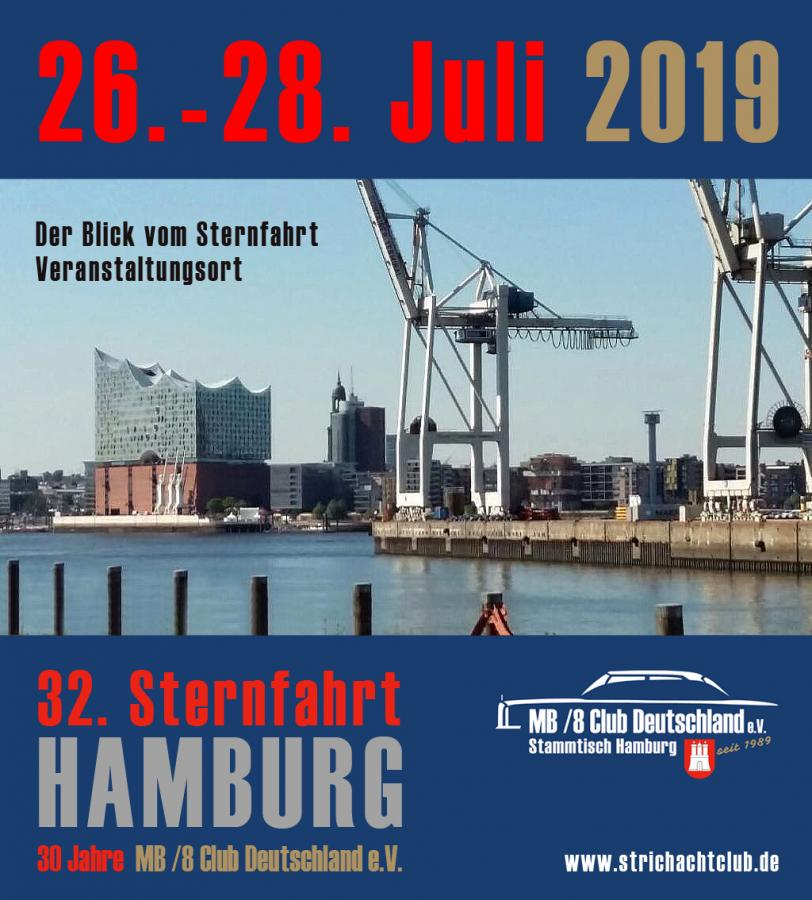 Sternfahrt 2019 - Save the Date !