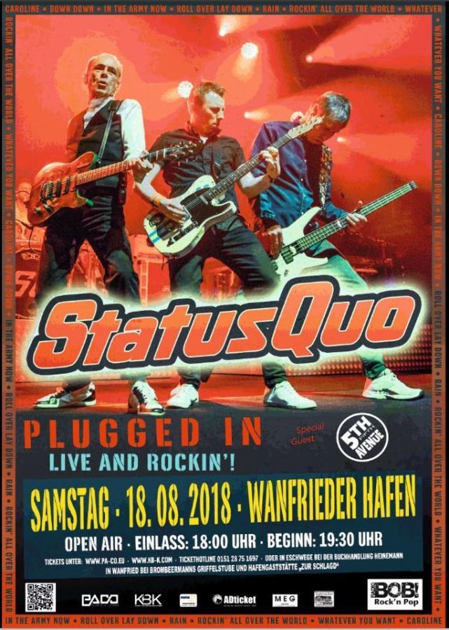 2018-08-18 Status Quo