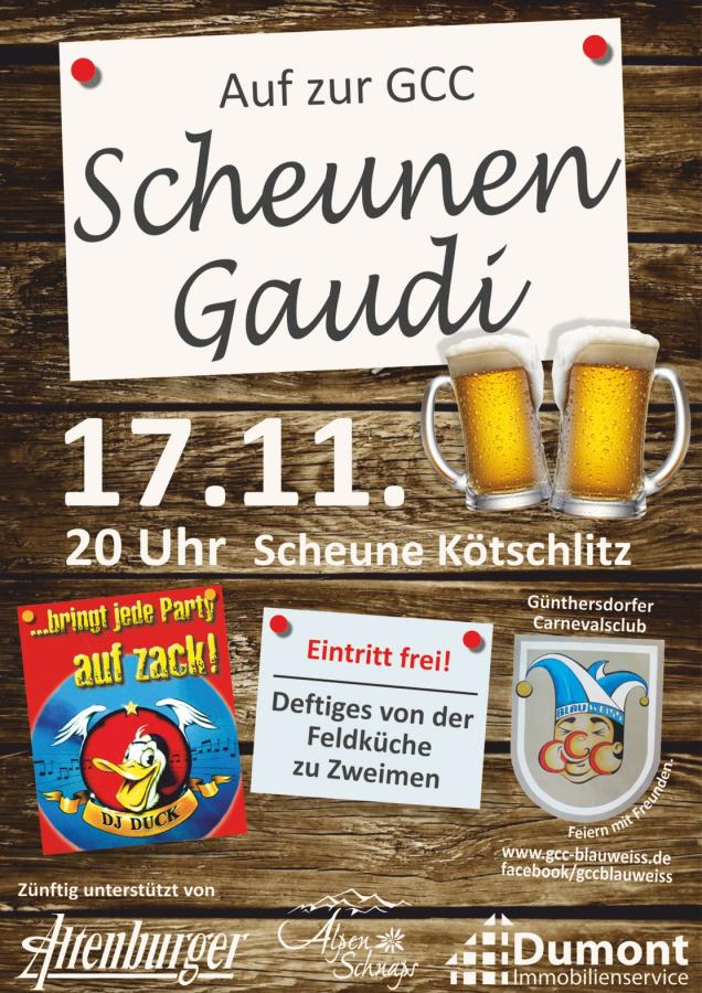 Scheunen Gaudi Scheune Kötzschlitz