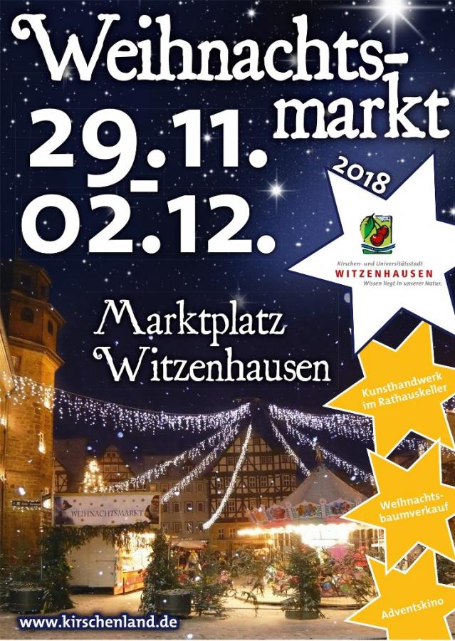 2018-11-19 Plakat Weihnachtsmarkt 2018 Witzenhausen