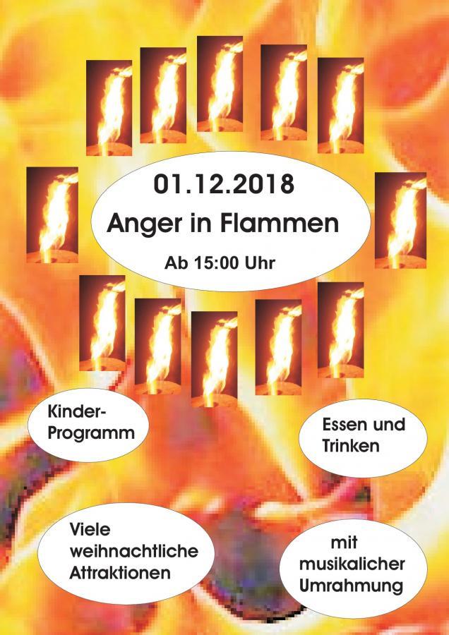 Anger in Flammen Frankershausen