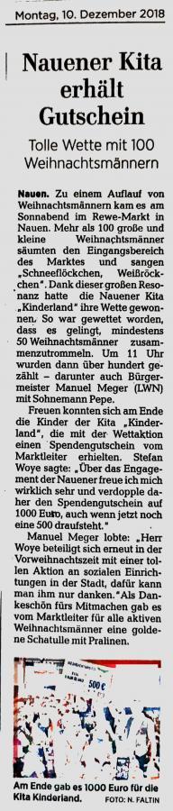 2018.12.10 Presse Weihnachtswette