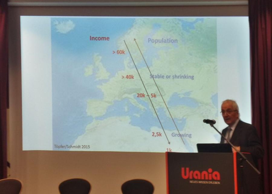Vortrag Prof. Dr. Klaus Töpfer am 18.01.2018 (Foto: Martin Lenk)