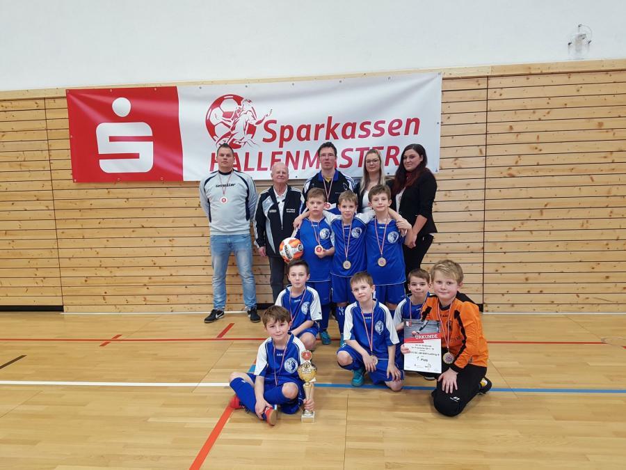 Hallenkreismeister 2018 der F-Junioren:SG 1. FC/SC UM/Leißling III