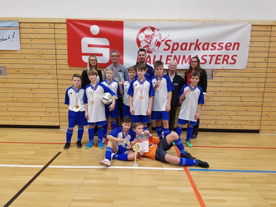 Hallenkreismeister 2018 der E-Junioren: NSG Saaletal I
