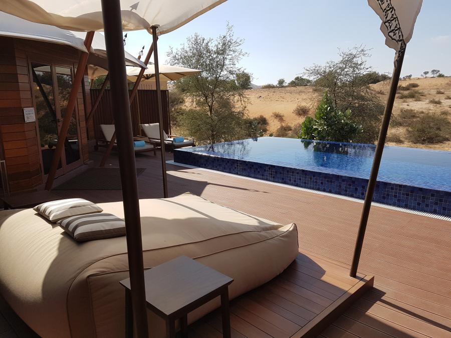 Wüstenvilla mit eigenem Pool