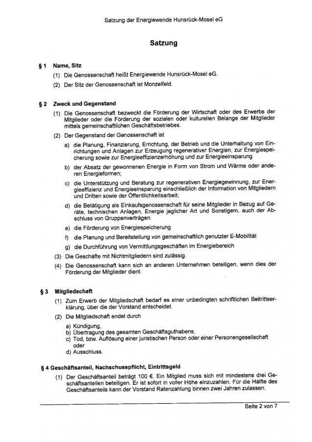 Satzung Seite 3