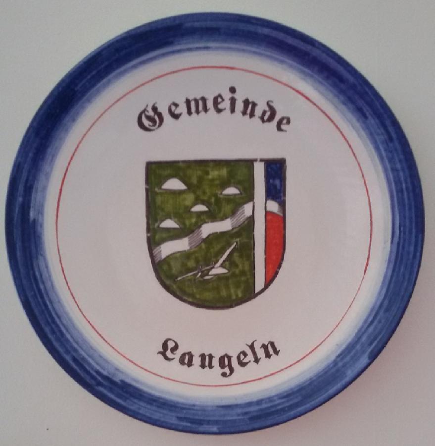Das Gemeinde Langeln Wappen