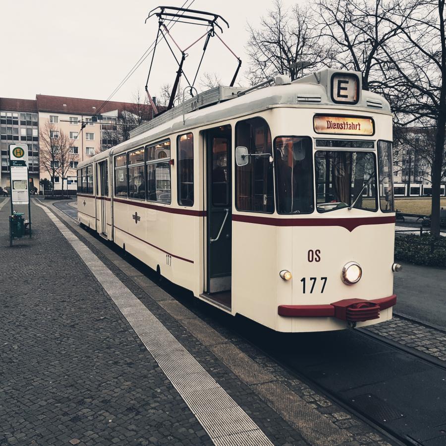 Tramfahrten mit Vanille & Koriander