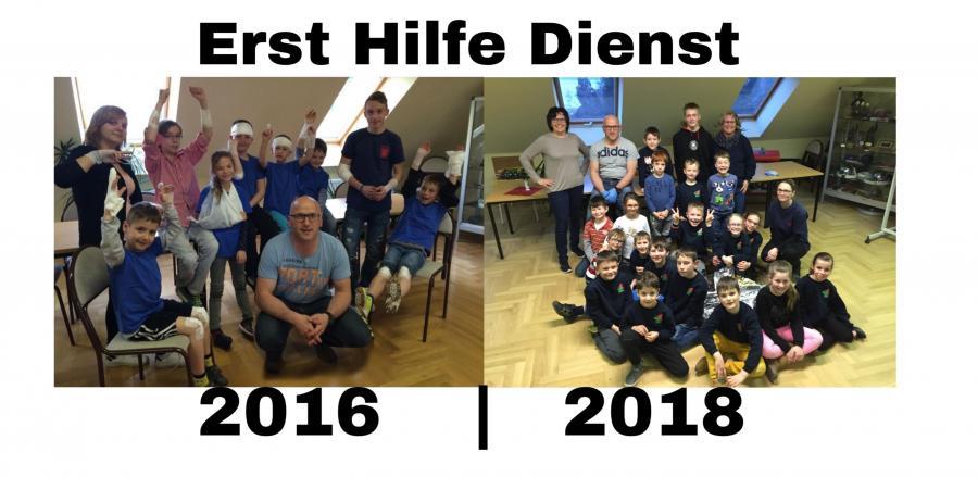 Erste-Hilfe-Dienst 2016 | 2018