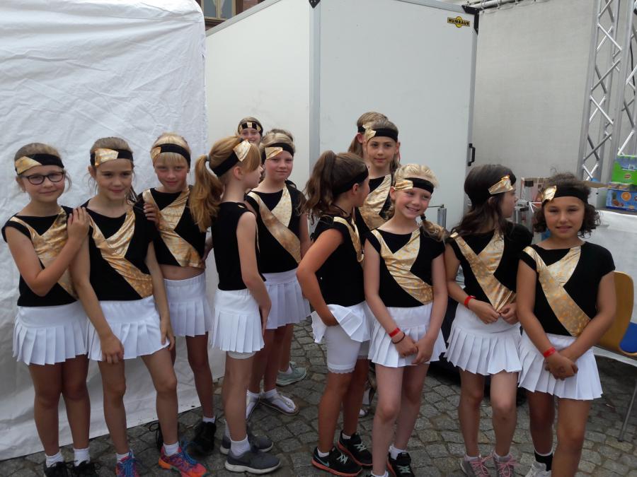 Cheerleader Kinder- und Stadtfest 2018