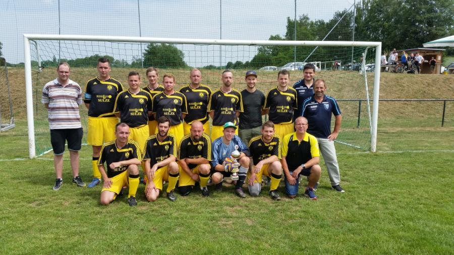 Staffelsieger Staffel 1 Kreisliga: SV Mertendorf/Molau