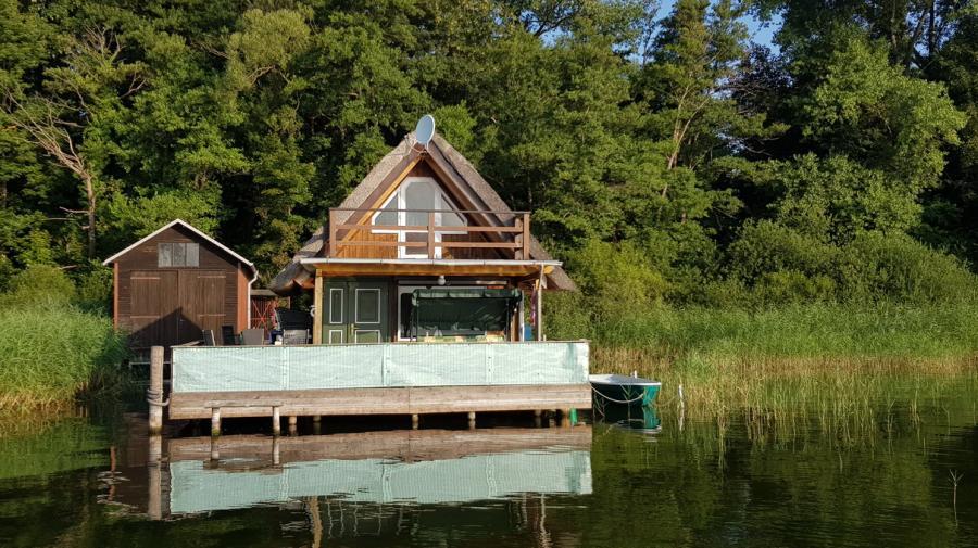 Blick auf´s Wasserhaus
