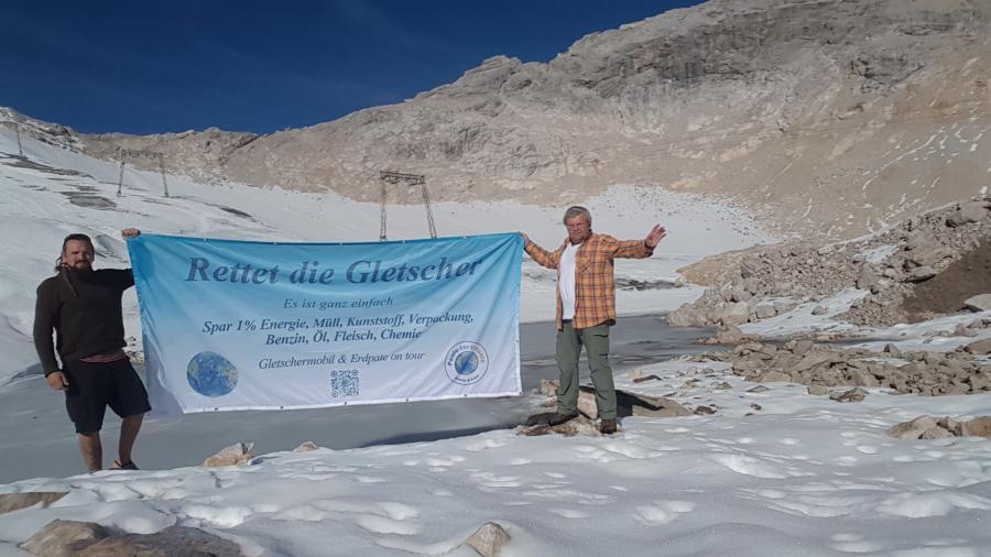 Rettet die Gletscher