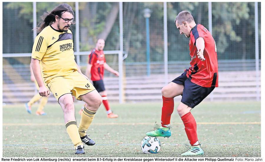 20181010_OVZ_Fußball Lok Männer landen Kantersieg 8 zu 1 gegen Wintersdorf Bild 1
