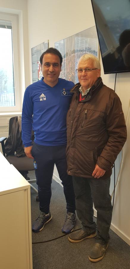 HSV-Campus -  Nachwuchsleistungszentrum NLZ  - U21 Co- Trainer Mehdi Mahdavikia