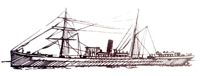 Schiff der Auswanderer