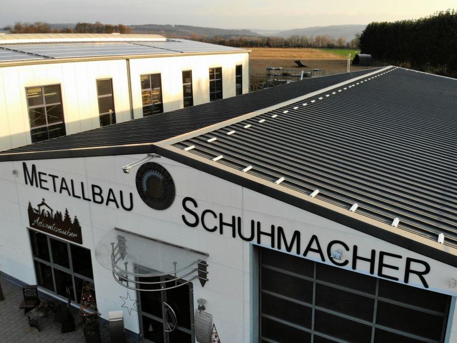Metallbau Schuhmacher im Bau