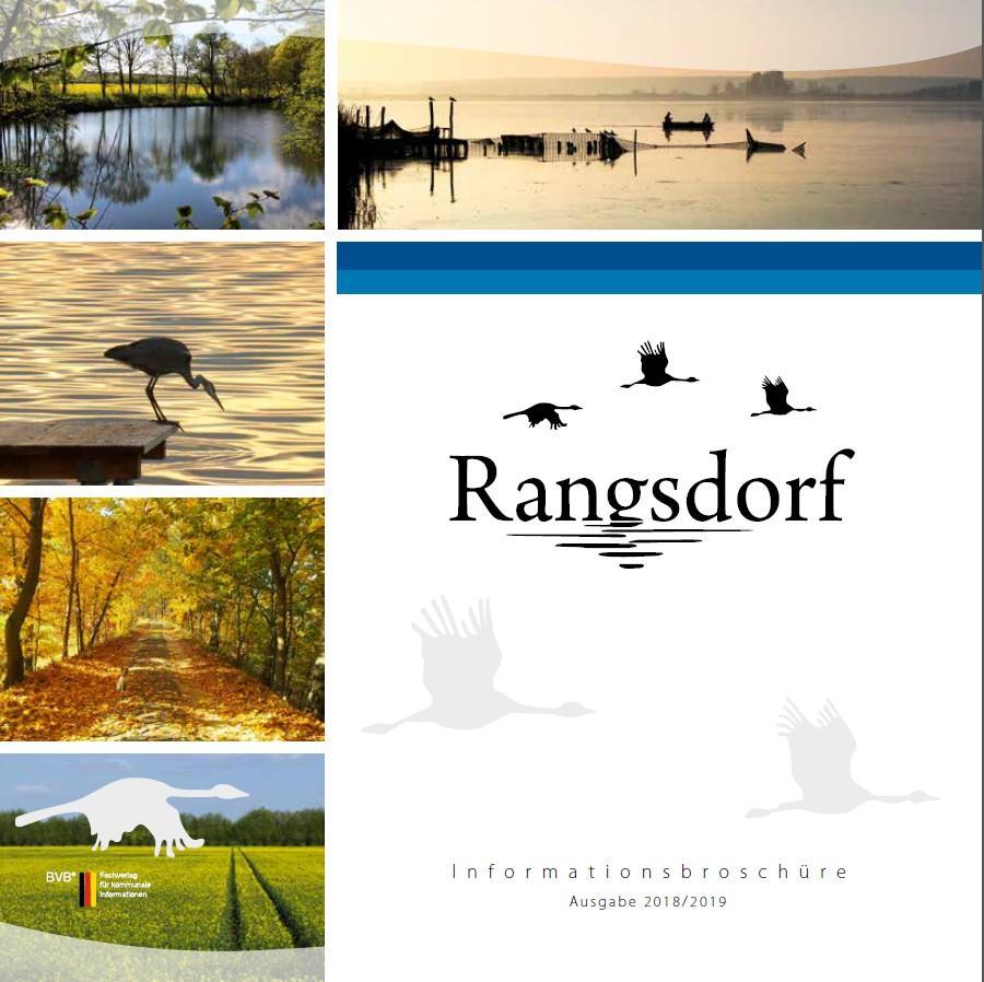 © Foto: Titelseite der Informationsbroschüre der Gemeinde Rangsdorf