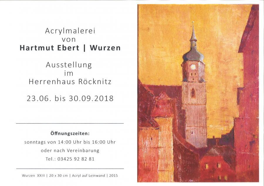 Acrylmalerei Hartmut Ebert