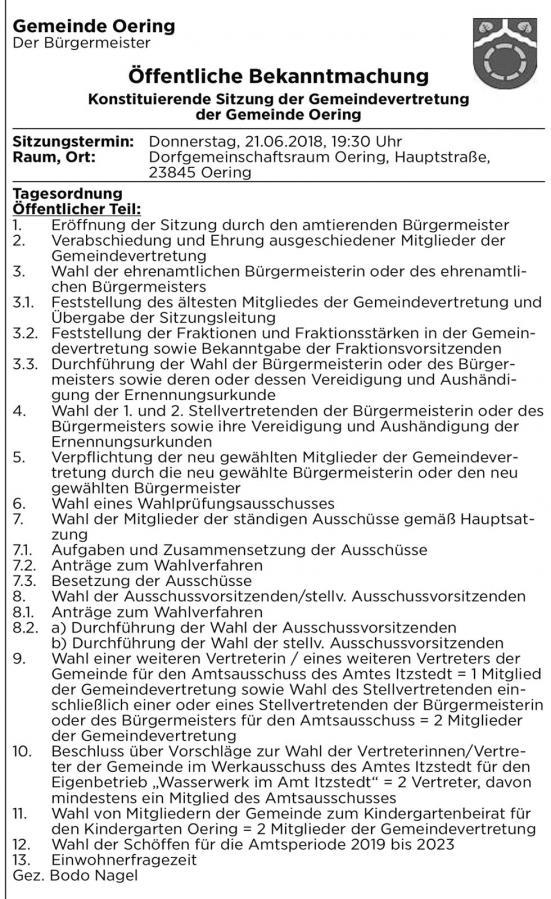2018_06_21 Einladung konstituierende Sitzung GV Oering