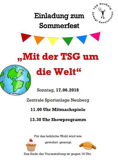 2018 TSG Sommerfest