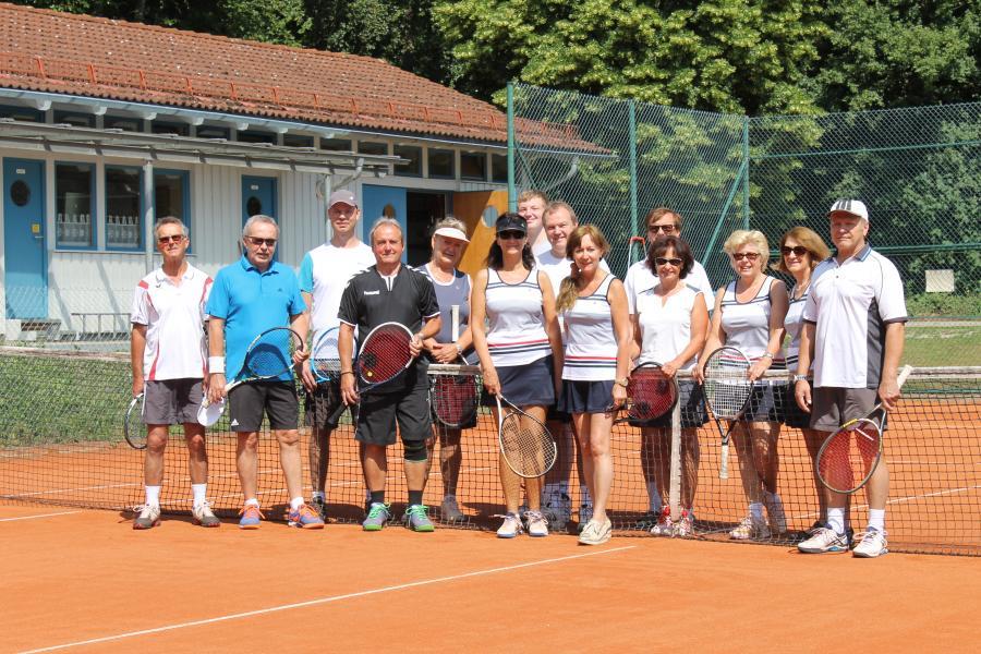 Tennisturnier am 16.06.2018 anlässlich des 25-jährigen Jubiläums