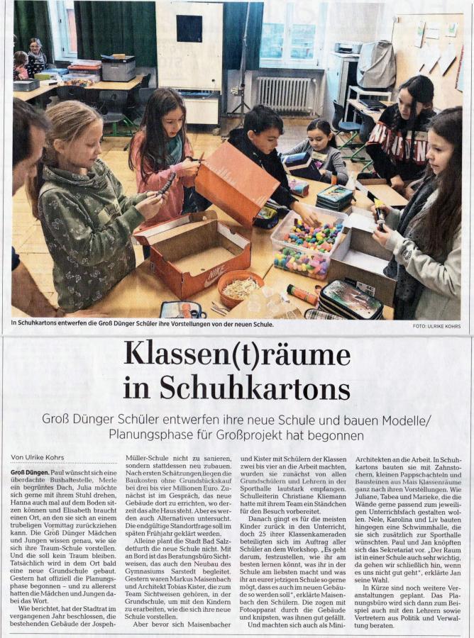Hildesheimer Allgemeine Zeitung 22. Januar 2019