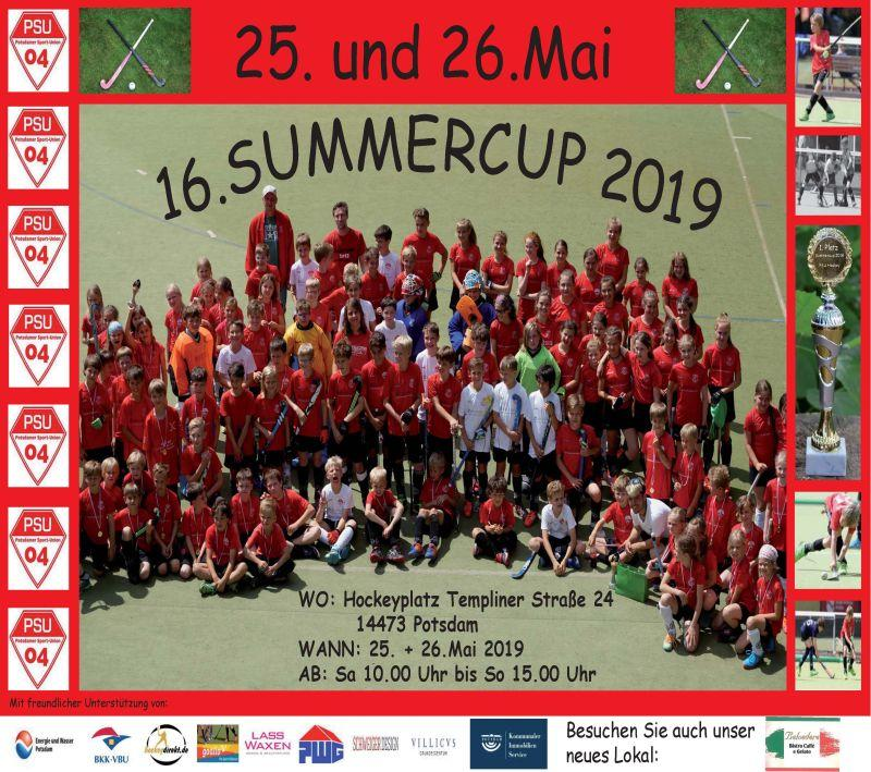 Poster Summercup 2019