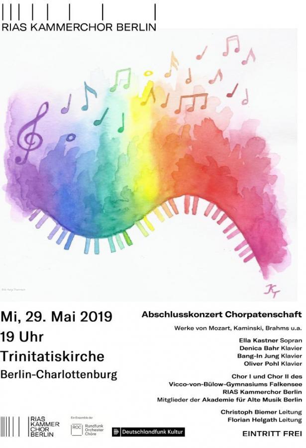 Abschlusskonzert der Chorpatenschaft mit dem RIAS-Kammerchor