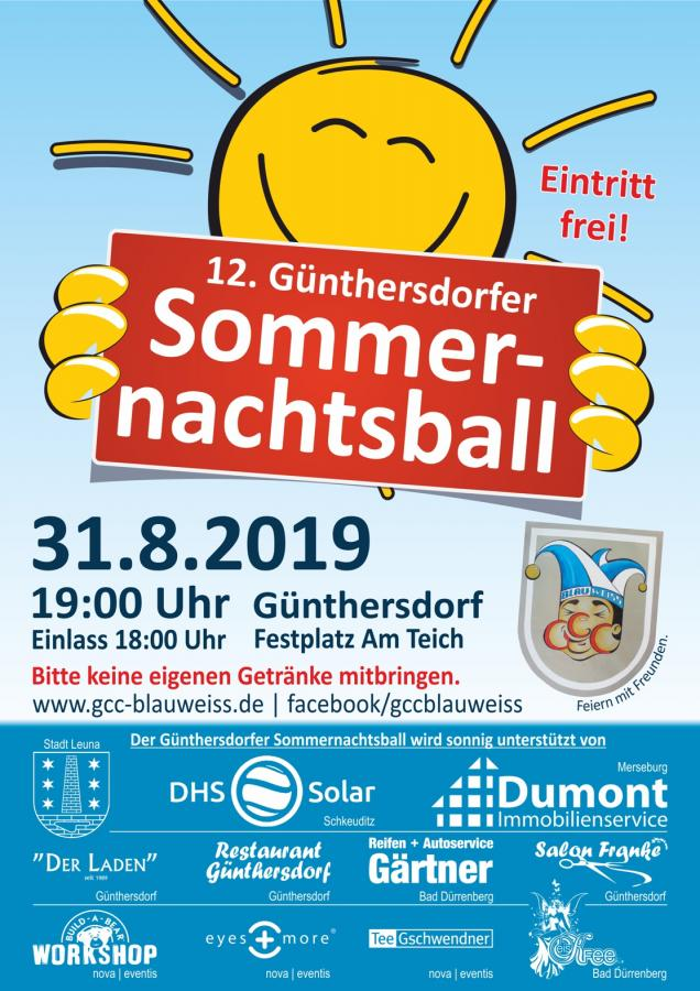 12. Günthersdorfer Sommernachtsball