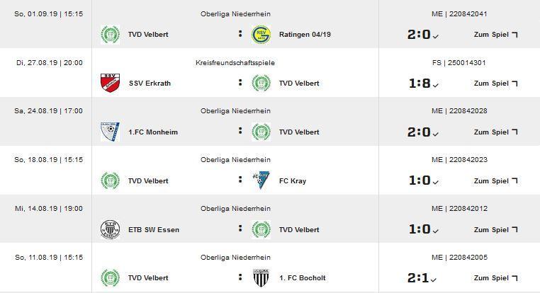 Spieltag 1-5