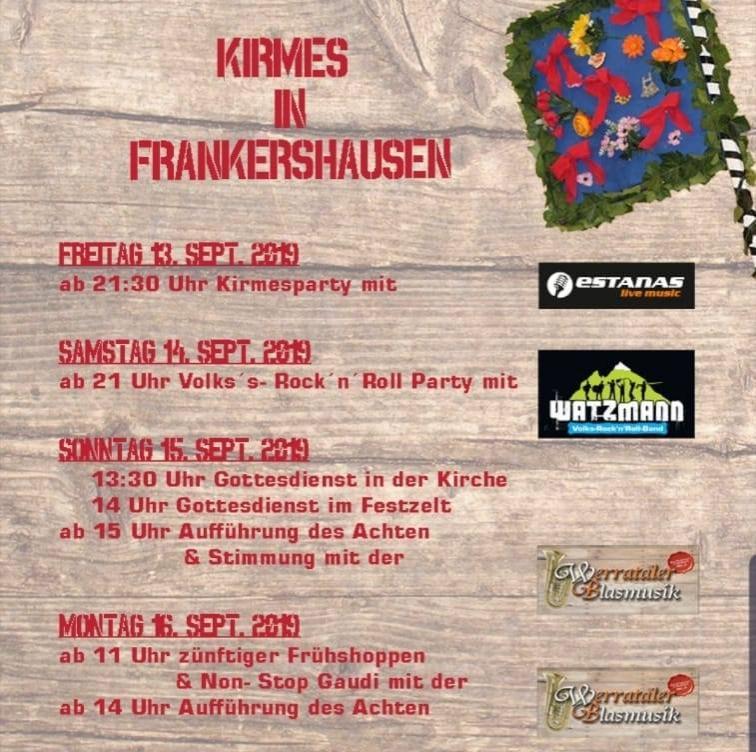 2019-09-13 Kirmes Frankershausen