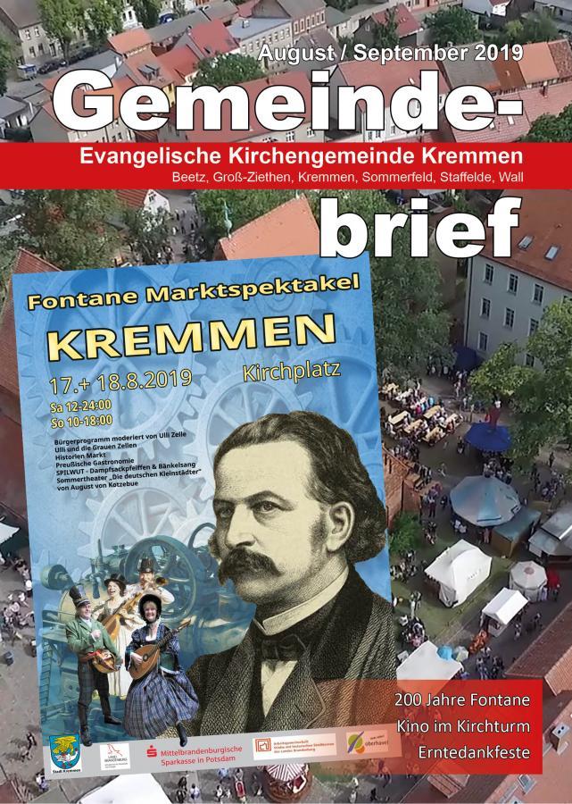 Gemeindebrief August September 2019