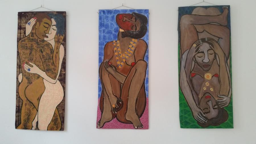 KK aus Dresden malt diese wunderbaren Bilder